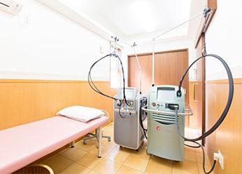 最新の治療機器・治療法を導入