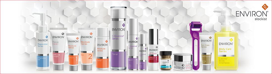 ENVIRON スキンケア商品イメージ